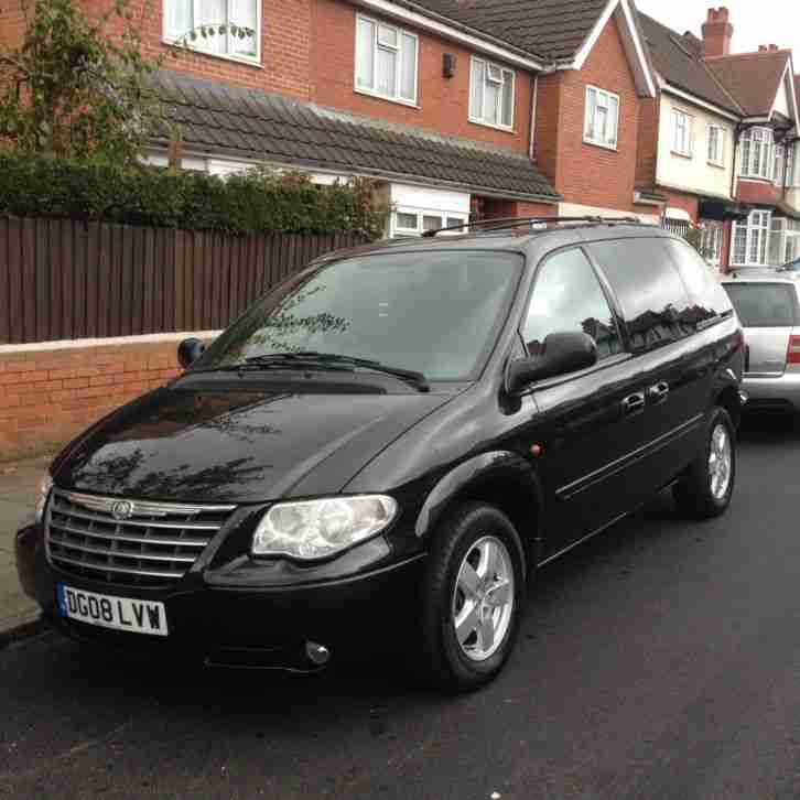 CHRYSLER VOYAGER EXECUTIVE CRD BLACK 2008