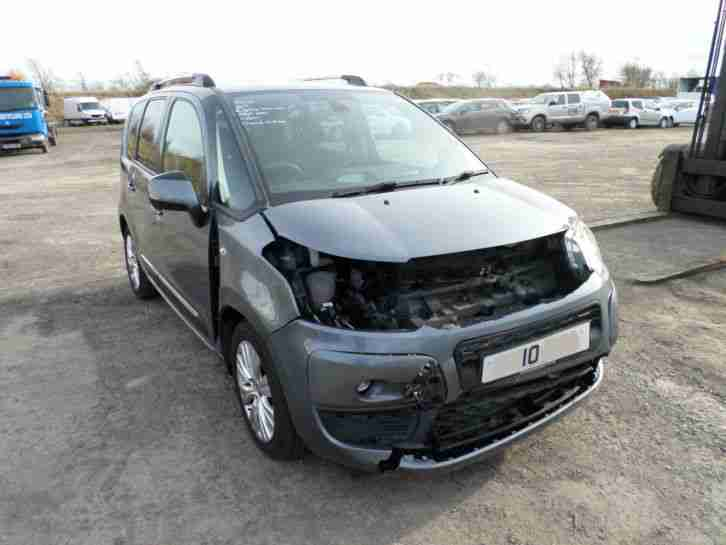 citreon c3 picasso exclusive 2010 damaged salvage repairable car for sale New Citroen C3 2015 Citroen C3 Manual