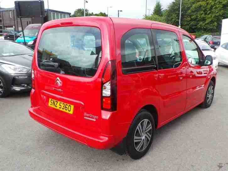 citroen berlingo multispace 1 6 hdi 90 vtr 5dr red car for sale. Black Bedroom Furniture Sets. Home Design Ideas