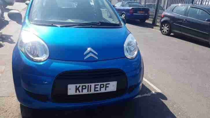 Citroen C1 1.0. Citroen car from United Kingdom