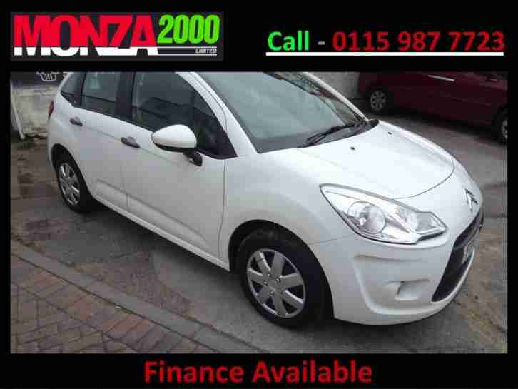 CITROEN C3 1.1i 8v VT ICE WHITE NIL DEPOSIT FINANCE WARRANTY STUNNING