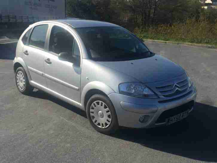 citroen c3 2008 58 5 door hatch in silver 34802 miles no reserve. Black Bedroom Furniture Sets. Home Design Ideas
