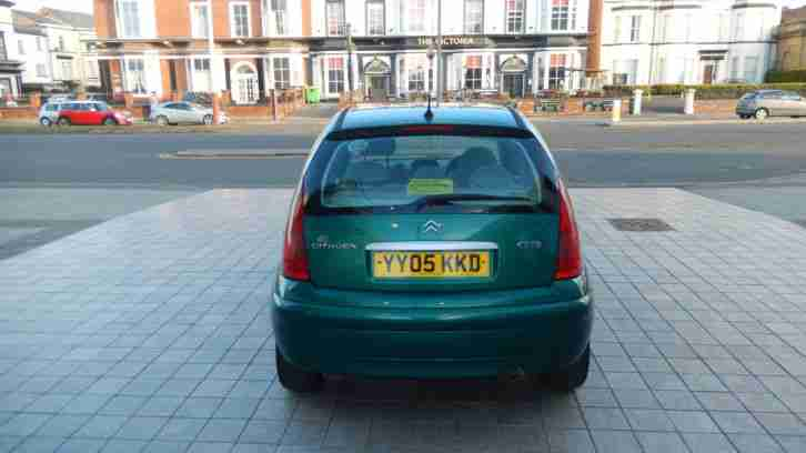 CITROEN C3 AUTO ON 05 PLATE WITH 12 MONTHS MOT & VERY LOW MILLAGE!!!