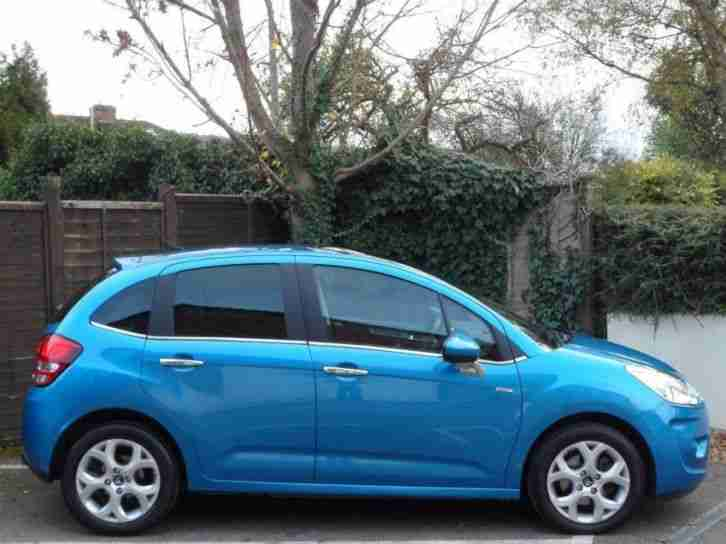 citroen c3 exclusive 2010 petrol automatic in blue car for sale. Black Bedroom Furniture Sets. Home Design Ideas