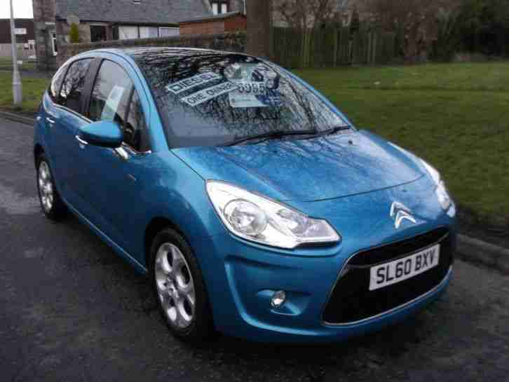 citroen c3 hdi exclusive blue manual diesel 2010 car for sale. Black Bedroom Furniture Sets. Home Design Ideas