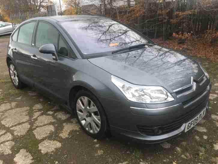 CITROEN C4 2.0 HDI AUTOMATIC EXCLUSIVE 09 PLATE 50,000 MILES