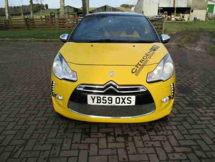 Citroen DS3 DSPORT. Citroen car from United Kingdom