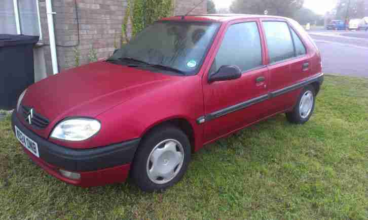 CITROEN SAXO SX 1.5 DIESEL 5 DOOR - Averages 65 MPG, Very Reliable & Economic!!!