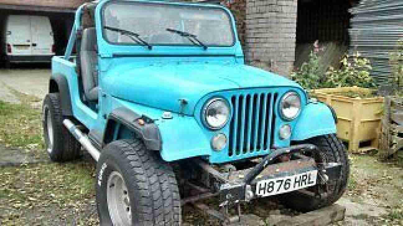 jeep cj wrangler 4x4 2 5 petrol project barn find 1996 03 07 car for sale. Black Bedroom Furniture Sets. Home Design Ideas
