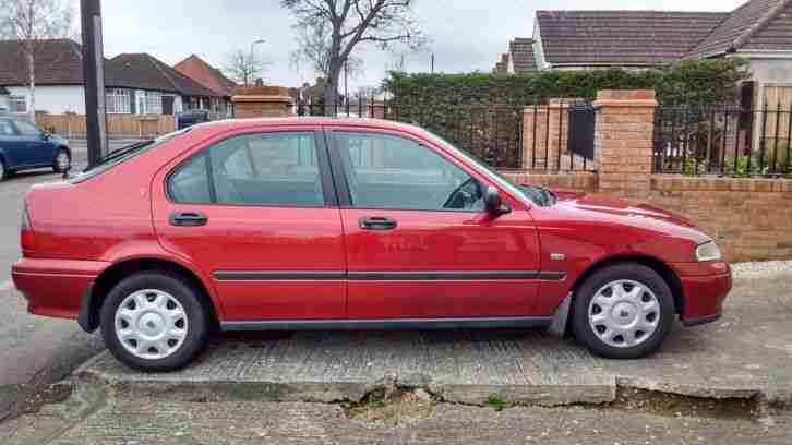 Car Rover 416LE 5 Door Hatchback, Red 1999