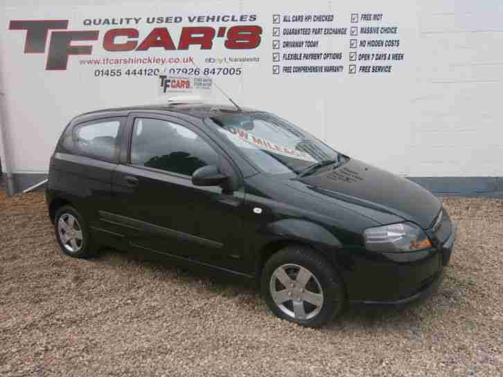 Chevrolet Kalos 1.2 S FINANCE AVAILABLE