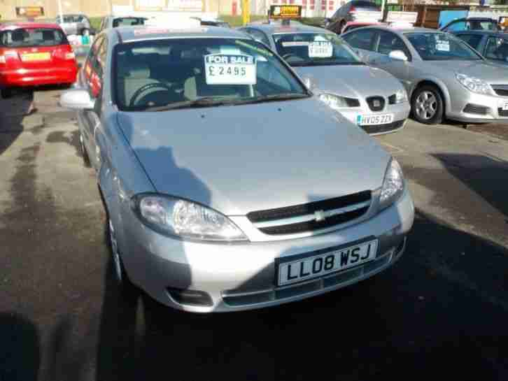 Chevrolet Lacetti 1.6 SX Hatchback 5d 1598cc FINANCE AVAILABLE