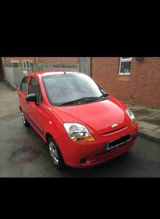 Chevrolet Matiz s 800 cc insurance group 3