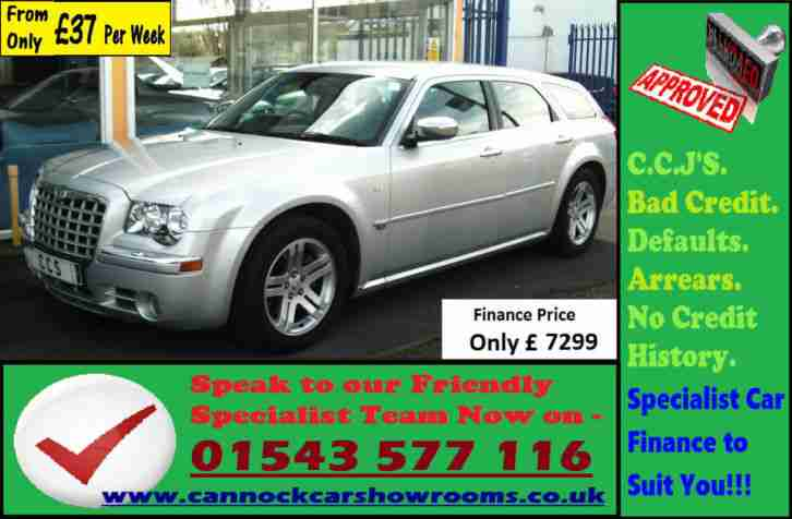 Chrysler 300C 3.0CRD V6 Auto Guaranteed Car Finance. Car