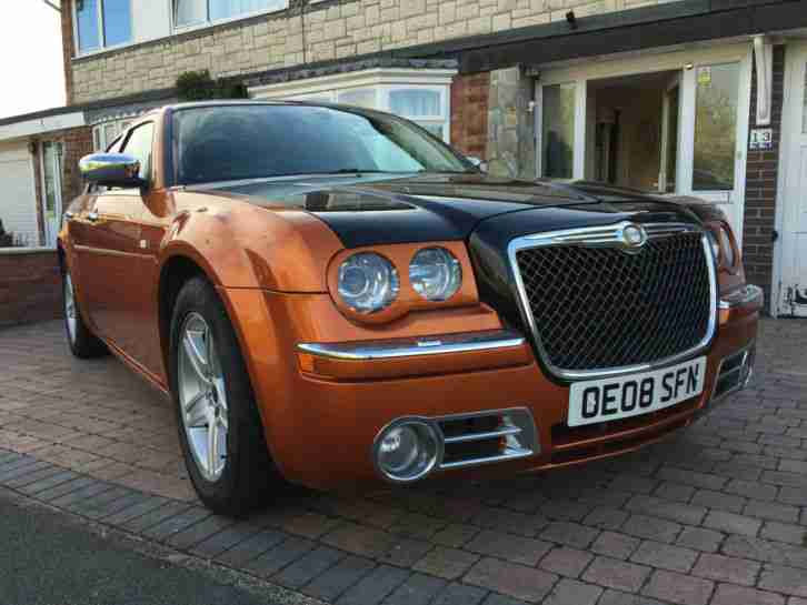 Chrysler 300c 2008 v6 diesel bentley flame orange for Chrysler 300c diesel