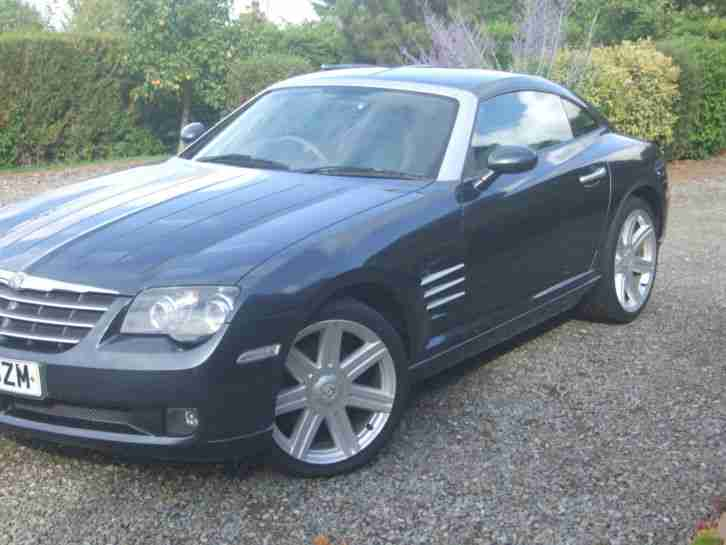 Crossfire 2006 Coupe. Reg 29 July