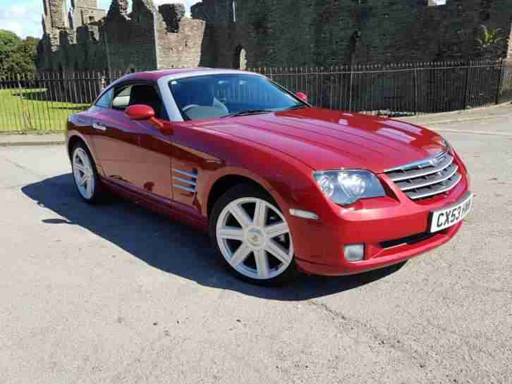 Chrysler Crossfire 3.2 Automatic ONLY 4761 MILES from new