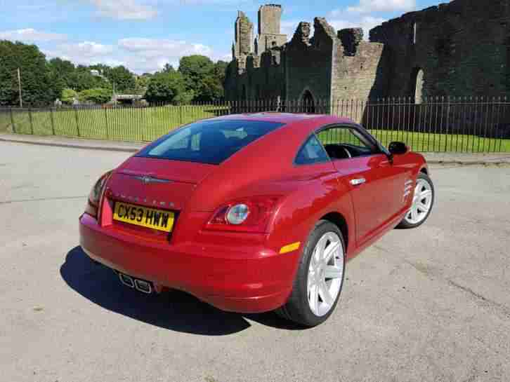Chrysler Crossfire 3.2 Automatic **** ONLY 4761 MILES from new****
