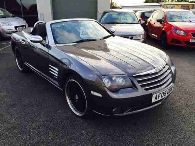 chrysler crossfire 3 2 roadster 2005 05 reg convertible car for sale. Black Bedroom Furniture Sets. Home Design Ideas