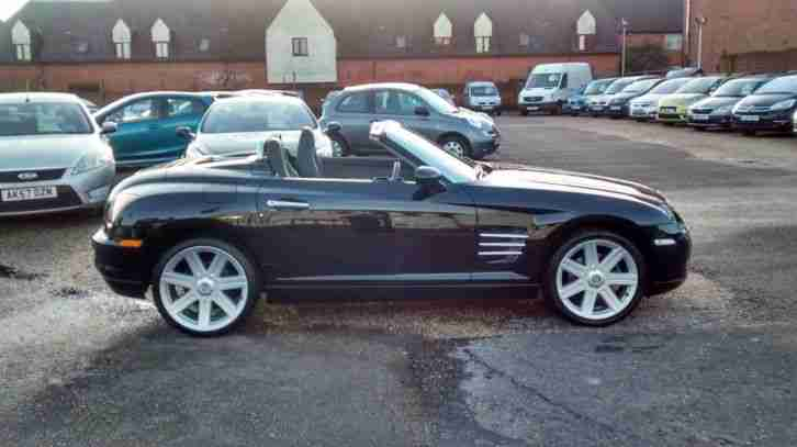 chrysler crossfire 3 2 roadster convertible car for sale. Black Bedroom Furniture Sets. Home Design Ideas