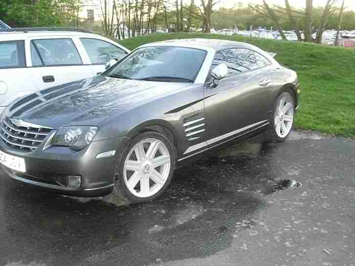 chrysler crossfire 3 2 v6 coupe grey 2004 rare manual car for sale. Black Bedroom Furniture Sets. Home Design Ideas