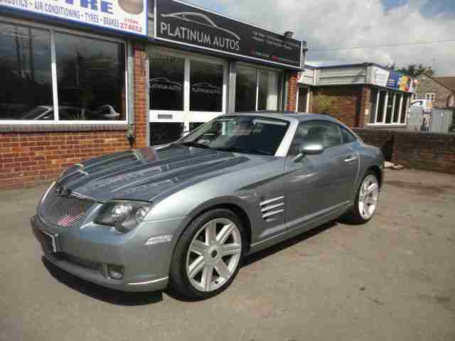 chrysler crossfire 3 2 v6 auto coupe 2003 53 reg car for sale. Black Bedroom Furniture Sets. Home Design Ideas