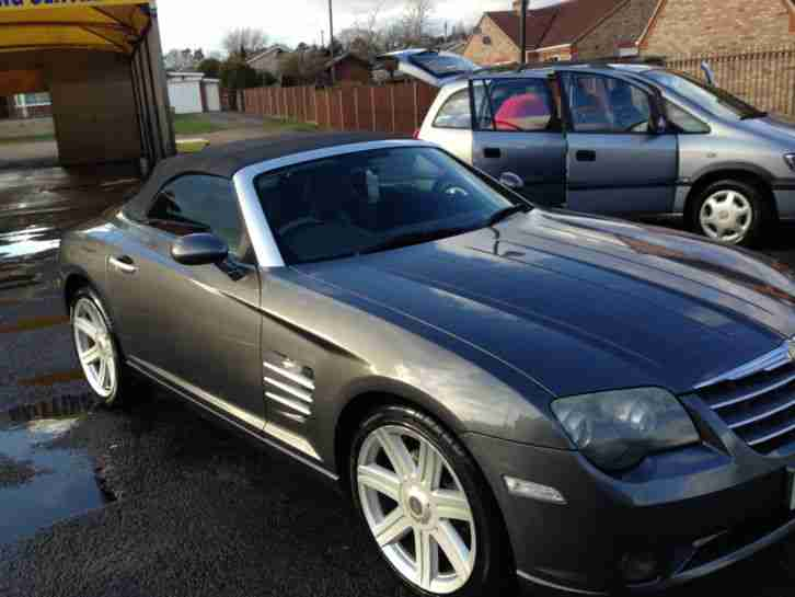 Purchase Used Chrysler Crossfire Convertible Grey: Chrysler Crossfire Convertible 2005 MOT + TAX Good Condition