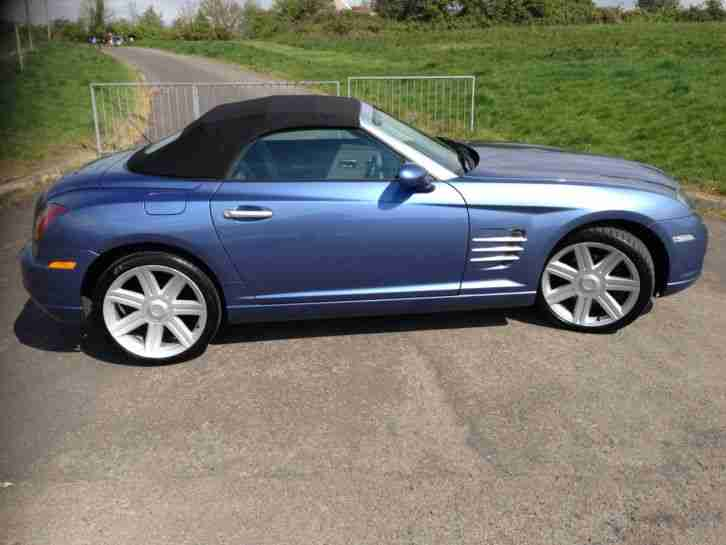 chrysler crossfire convertible 3 2 2004 lovely car car for sale. Black Bedroom Furniture Sets. Home Design Ideas