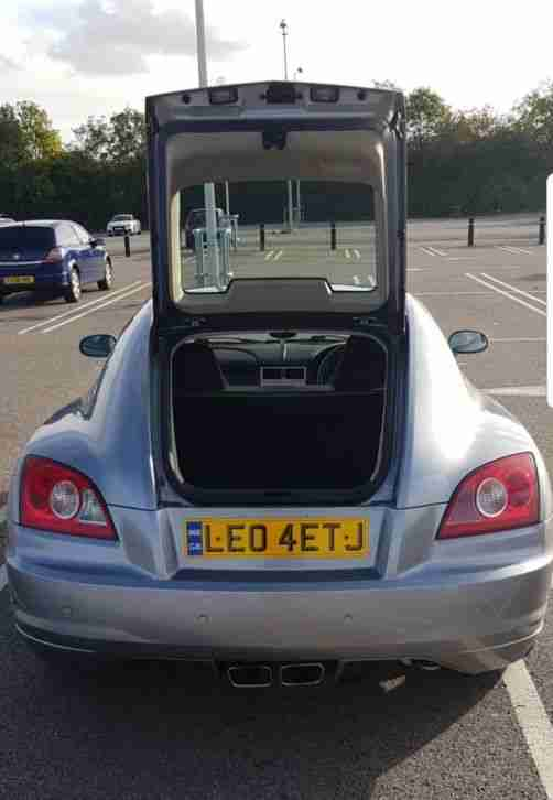 Chrysler Crossfire V6 Sapphire Blue - Pristine with new exhaust system*****