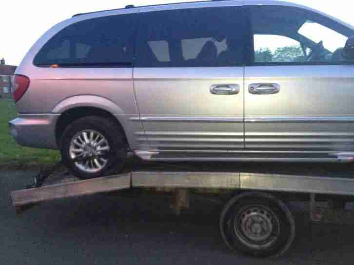 Chrysler Grand Voyager 2.5TD SE BREAKING FOR SPARES AND REPAIRS