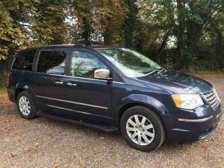 Chrysler Grand Voyager 2.8 CRD Limited 5dr Top Spec 7 Seat Rear DVD 2010