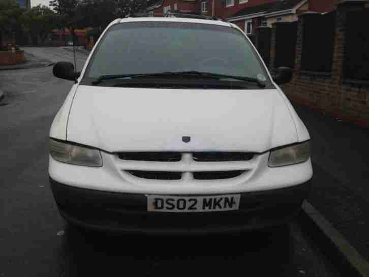 Chrysler Grand Voyager 3.3 AUTO with LPG (LHD) Left Hand Drive
