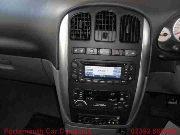 Chrysler Grand Voyager CRD EXECUTIVE XS STOW&GO ELECTRIC DOORS & TAIL... 2007/07