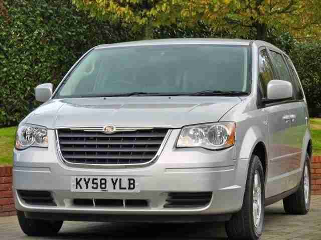 Chrysler Grand Voyager CRD LX Stow`n`Go Automatic 7 Seater DIESEL 2008/58