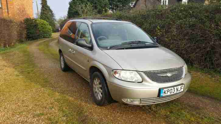 Grand Voyager CRD Manual Heated