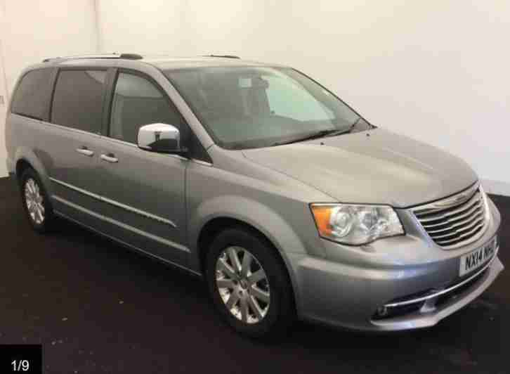 Chrysler Grand Voyager. Chrysler car from United Kingdom
