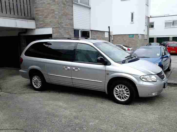 Chrysler Grand Voyager Limited 3.3i Auto 7 Seats and only 69k miles & 2 Owners !
