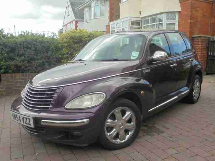 Chrysler PT Cruiser 2.2CRD Limited 05 54 Reg, 1 OWNER MASSIVE HISTORY FILE