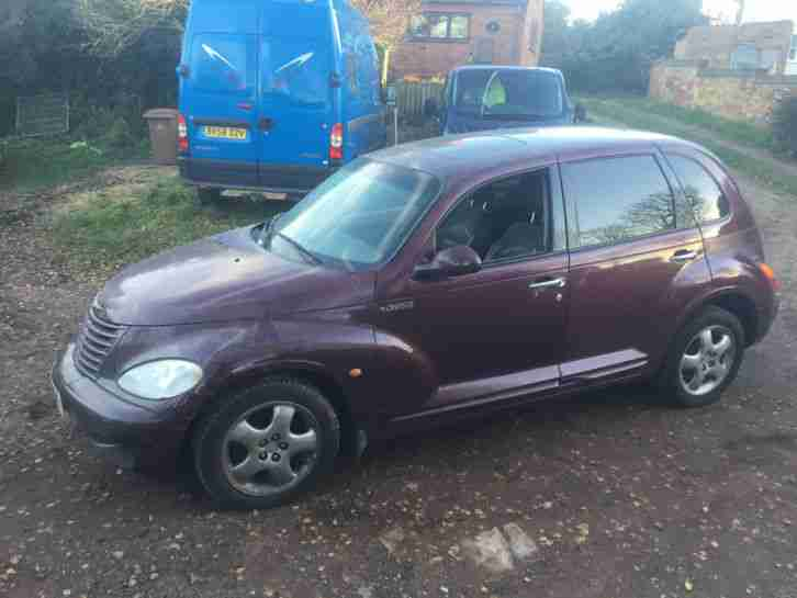 Chrysler PT Cruiser 2000 LHD left hand drive very low miles rare