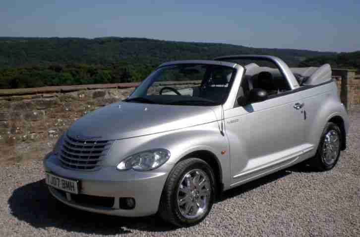 chrysler pt cruiser 2007 convertible 2 4 auto limited leather vgc. Black Bedroom Furniture Sets. Home Design Ideas