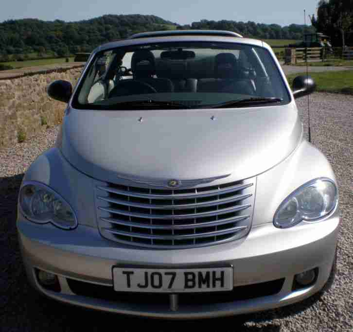 Chrysler PT Cruiser 2007 Convertible 2.4 Auto Limited