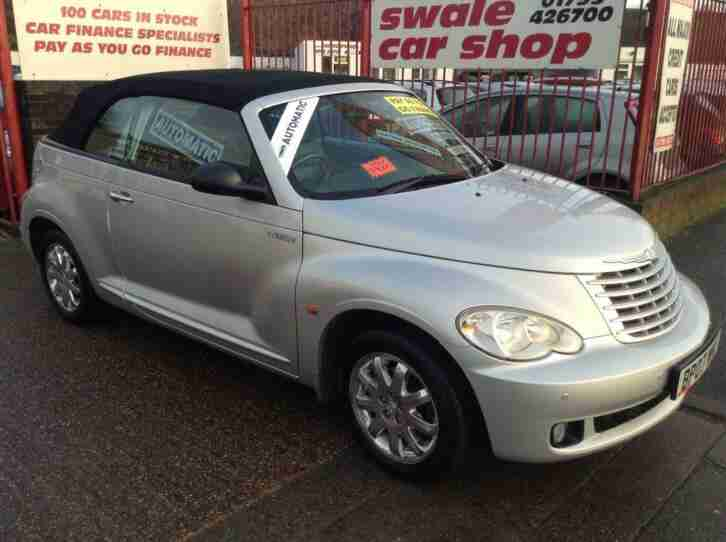 Chrysler PT Cruiser LIMITED 2 Door PETROL AUTOMATIC 2007 07