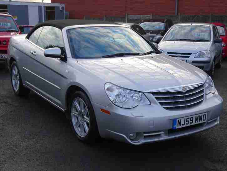 chrysler sebring 2 7 cabrio v6 auto limited car for sale. Black Bedroom Furniture Sets. Home Design Ideas