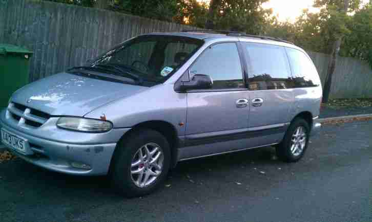 chrysler voyager 2 5 td x reg 2000 car for sale. Black Bedroom Furniture Sets. Home Design Ideas