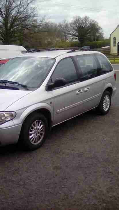 Chrysler Voyager 2.7 OF diesel auto