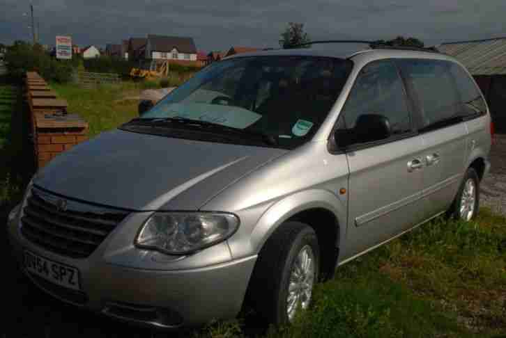 Chrysler Voyager LX 2.8 CRD Diesel Automatic Grand 7 seater 54 plate