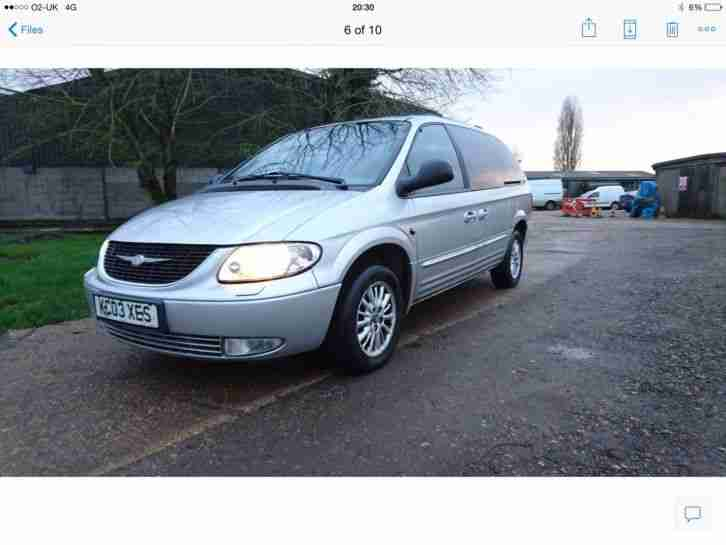 grand Voyager limited 7 seater