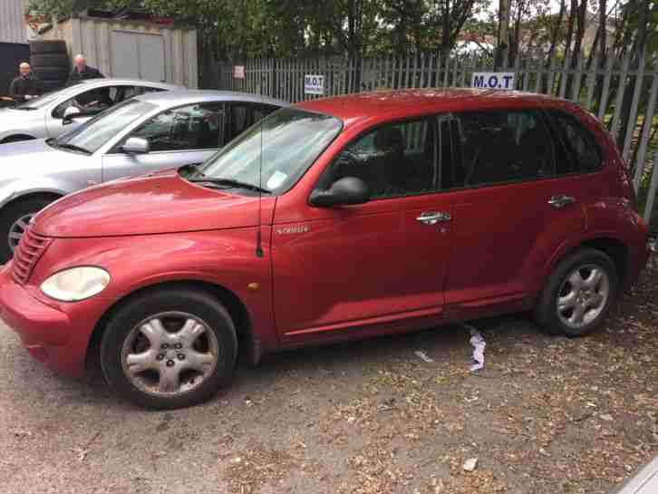 Chrysler Pt cruiser. Chrysler car from United Kingdom