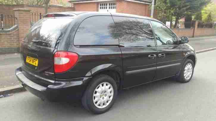 Chrysler voyager 2.5 petrol lpg cheap running cost ideal for family trips