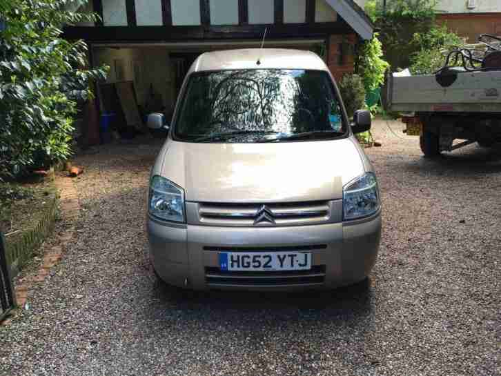 Citroen Berlingo Multispace. Citroen car from United Kingdom